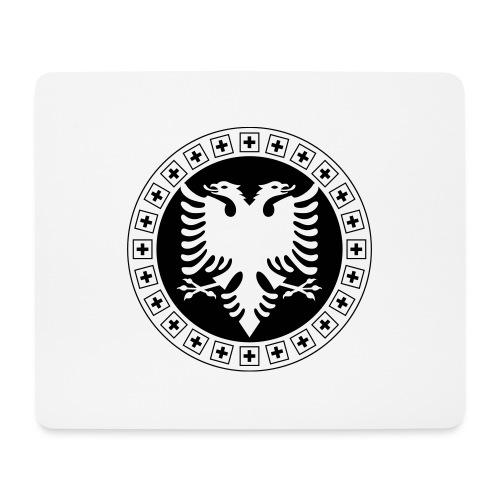 Albanien Schweiz Shirt - Mousepad (Querformat)