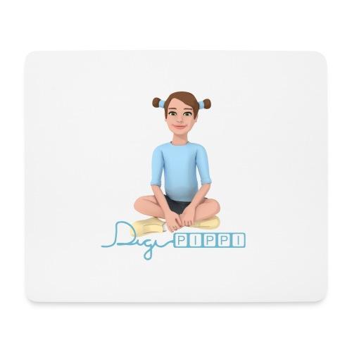 DigiPippi - maskot og logo - Mousepad (bredformat)