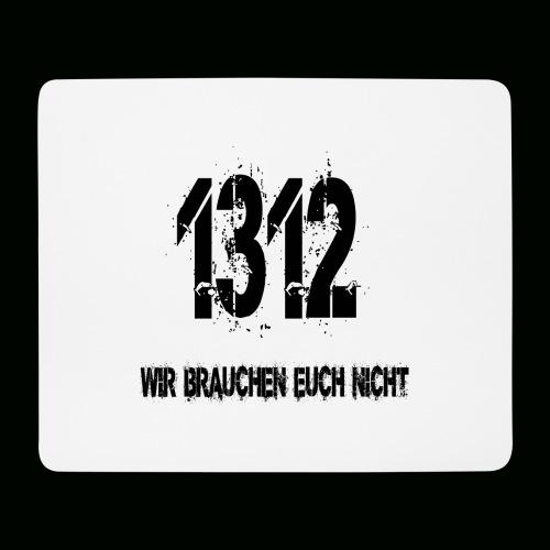1312 BOSS - Mousepad (Querformat)