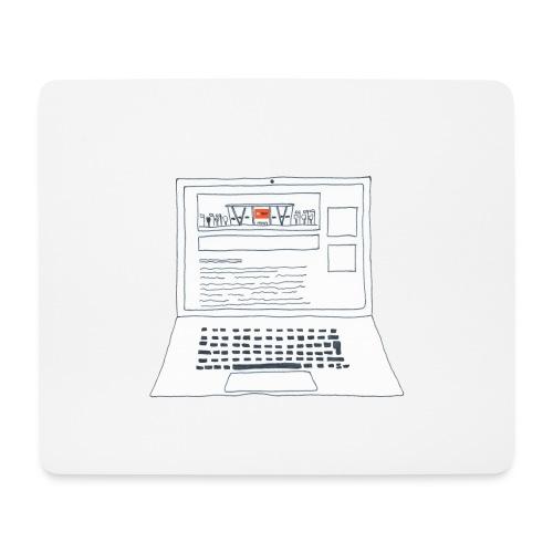 Laptop 20CENT Retail - Tapis de souris (format paysage)