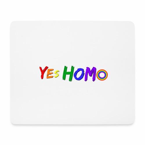 yes homo - Musmatta (liggande format)