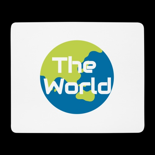 The World Earth - Mousepad (bredformat)