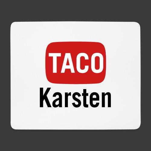 Taco Karsten Youtube Logo - Mousepad (bredformat)