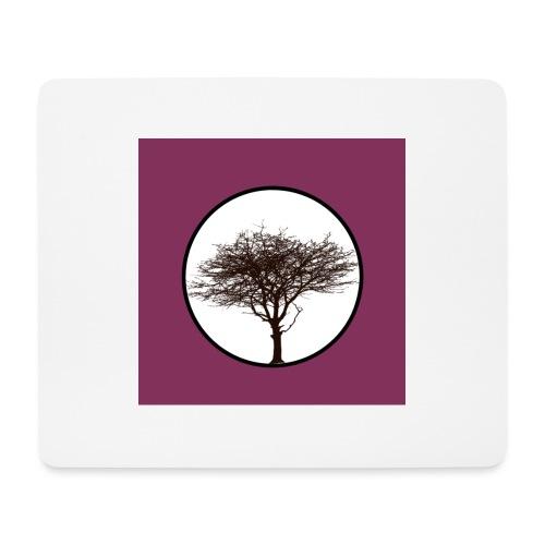 Baum in Kreis - Mousepad (Querformat)