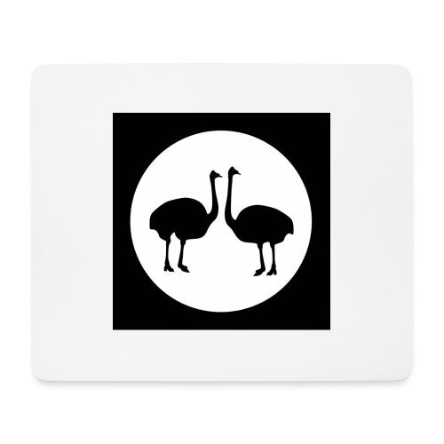Strauß - Mousepad (Querformat)