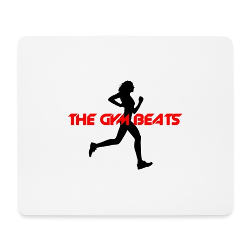 THE GYM BEATS - Music for Sports - Mousepad (Querformat)