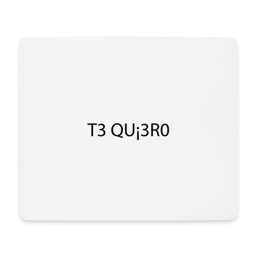 Te Quiero - Tapis de souris (format paysage)