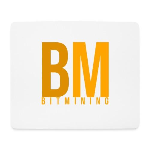Logo Bitmining - Tapis de souris (format paysage)