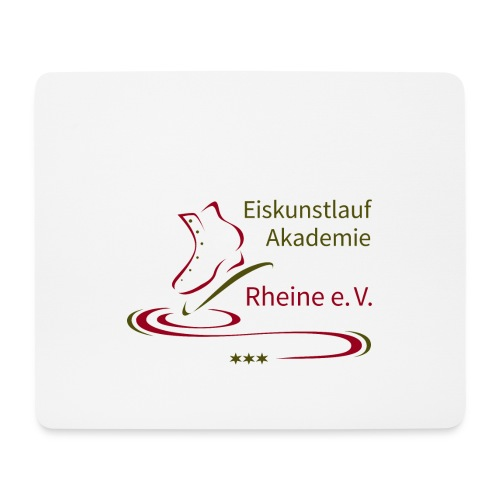 Original Logo Eiskunstlauf Akademie Rheine e.V. - Mousepad (Querformat)