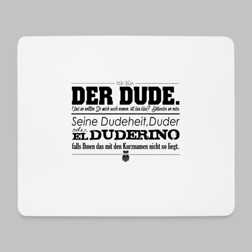 the Big Lebowski - Mousepad (Querformat)