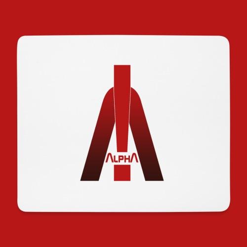 ALPHA - Winner wins! - Mousepad (Querformat)