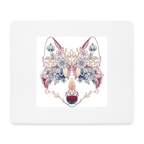 Wolf Wow - Alfombrilla de ratón (horizontal)