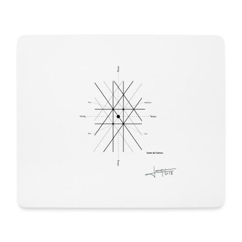 mathematique du centre_de_lunivers - Tapis de souris (format paysage)