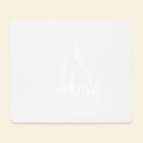 Dog Silhouette - Mousepad (Querformat)