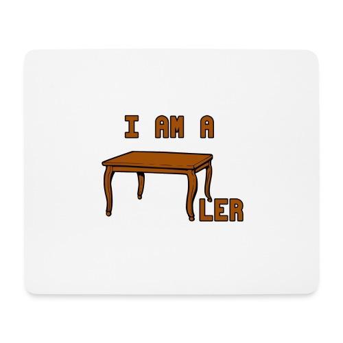 i am a Tischler - Mousepad (Querformat)