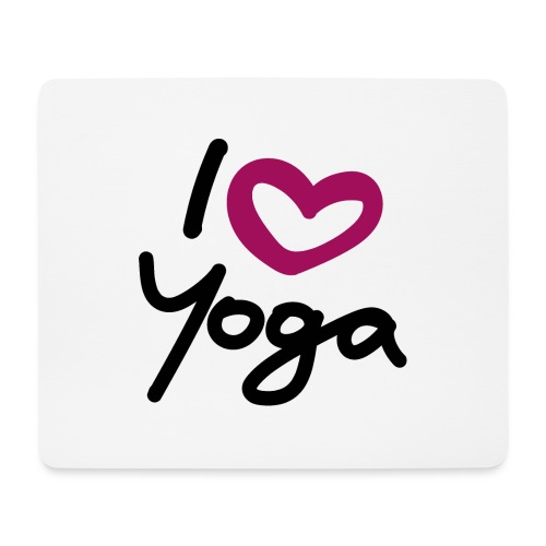I love Yoga. - Mousepad (Querformat)