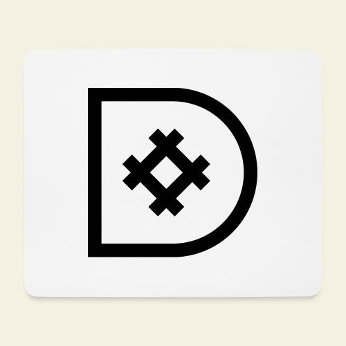Icona de #ildazioètratto - Tappetino per mouse (orizzontale)