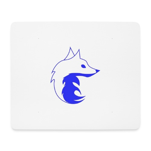 Aether Fox Winter - Mouse Pad (horizontal)