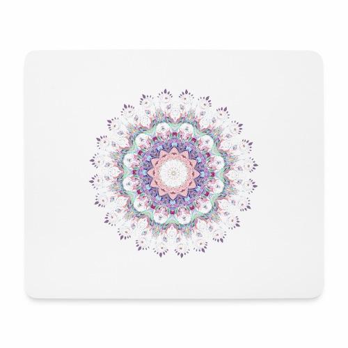 Hvid mandala - Mousepad (bredformat)