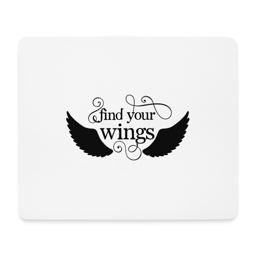your own wings - Mousepad (Querformat)