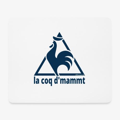 La Coq d'Mammt - Tappetino per mouse (orizzontale)