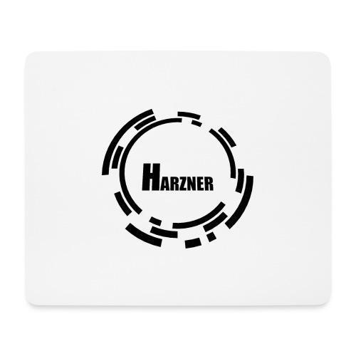 HarznerLogoBW3000x3000 - Mousepad (Querformat)