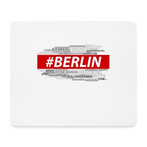 Hashtag Berlin - Mousepad (Querformat)
