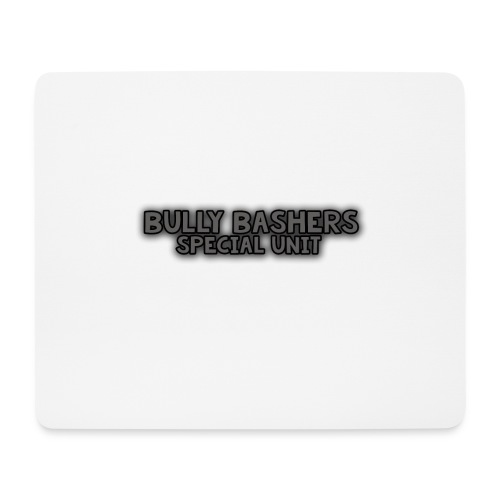BULLY BASHER SPECIAL UNIT - Mouse Pad (horizontal)