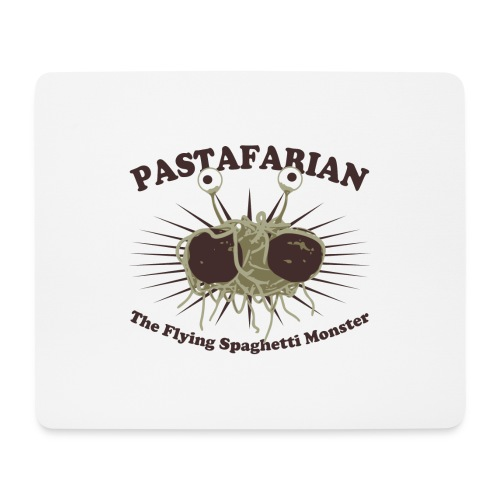 The Flying Spaghetti Monster - Mouse Pad (horizontal)
