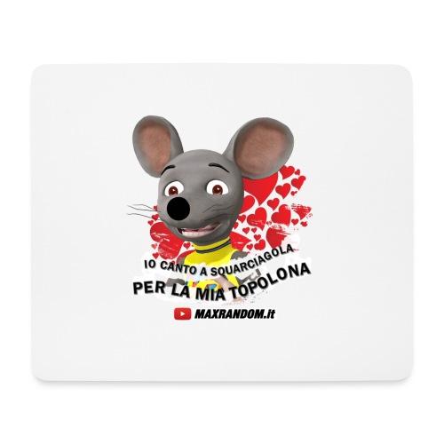 Io Canto a Squarciagola - Tappetino per mouse (orizzontale)