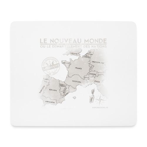 euroregions BLANC - Tapis de souris (format paysage)