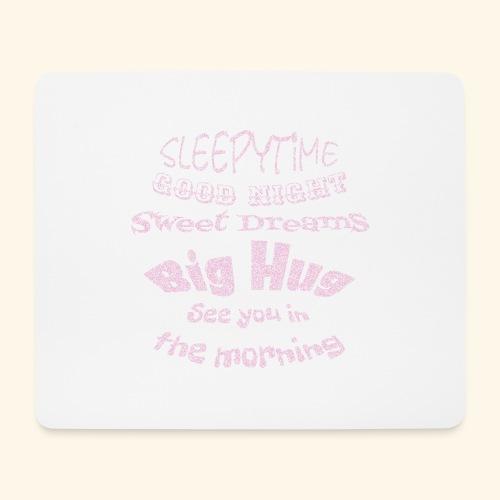 SleepyTime in soft pink - Muismatje (landscape)