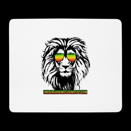 RASTA REGGAE LION - Mousepad (Querformat)