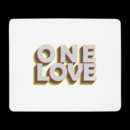 ONE LOVE - Mousepad (Querformat)