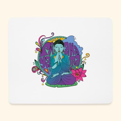 pranayama - Alfombrilla de ratón (horizontal)