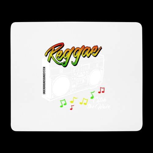Reggae - Catch the Wave - Mousepad (Querformat)
