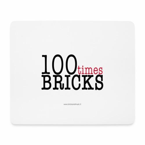 100times BRICKS - Tappetino per mouse (orizzontale)