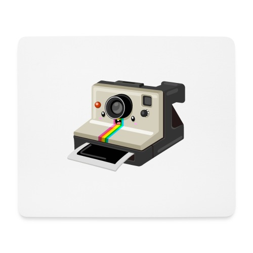 Polaroid 1000 kawaii - Tapis de souris (format paysage)
