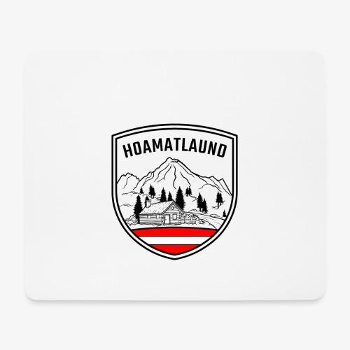 hoamatlaund logo - Mousepad (Querformat)