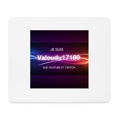 Valoudu17180twitch - Tapis de souris (format paysage)
