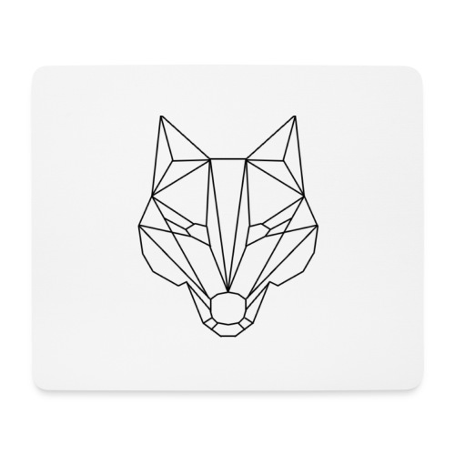Wolf Blacklined - Mousepad (Querformat)