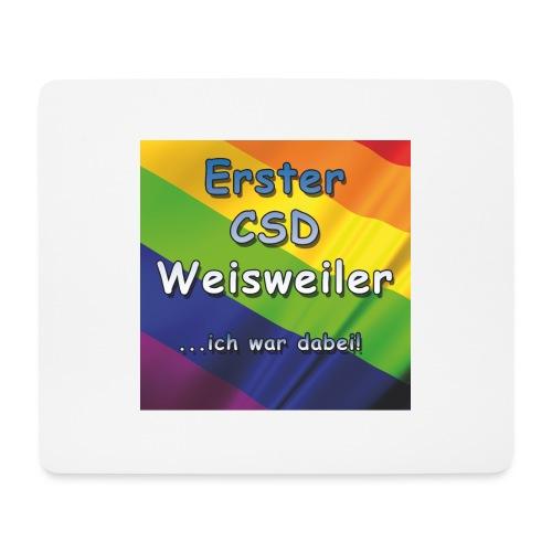 Erster CSD Weisweiler - Mousepad (Querformat)