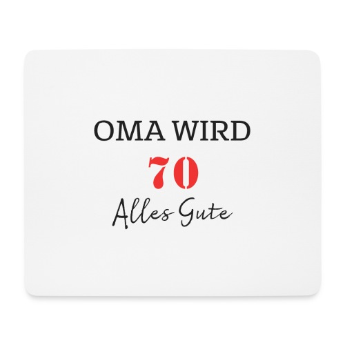 OMA WIRD 70 - Mousepad (Querformat)