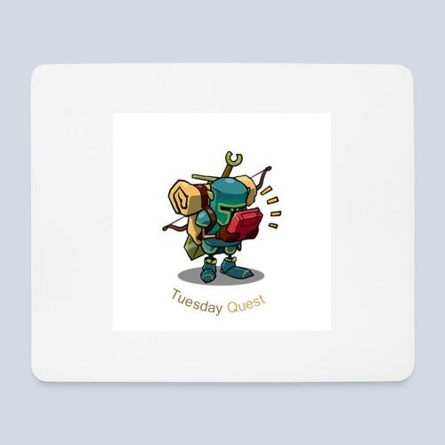 Tuesday Quest Logo - Tapis de souris (format paysage)