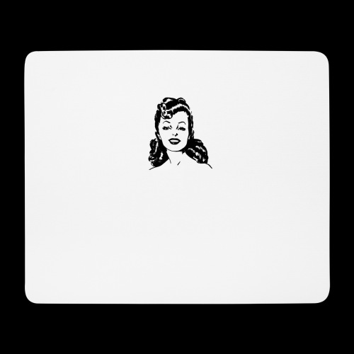Vintage lady funny quote - Mouse Pad (horizontal)