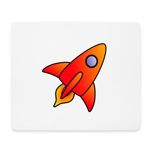 Red Rocket - Mouse Pad (horizontal)