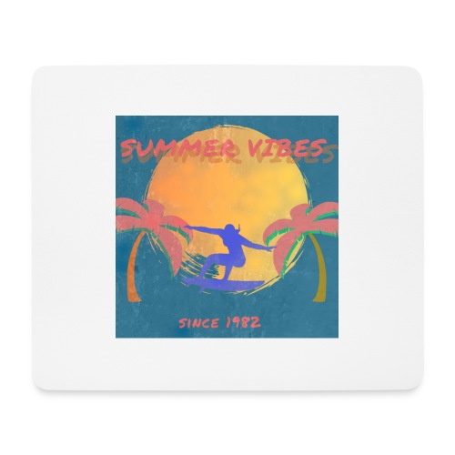 Summer vibes - Alfombrilla de ratón (horizontal)