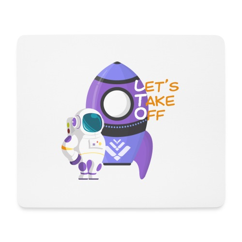 Let's take off - Mouse Pad (horizontal)