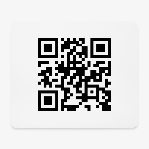 QR Code - Mouse Pad (horizontal)