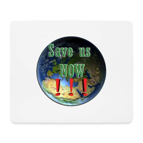 save us earth friday for future - Mouse Pad (horizontal)